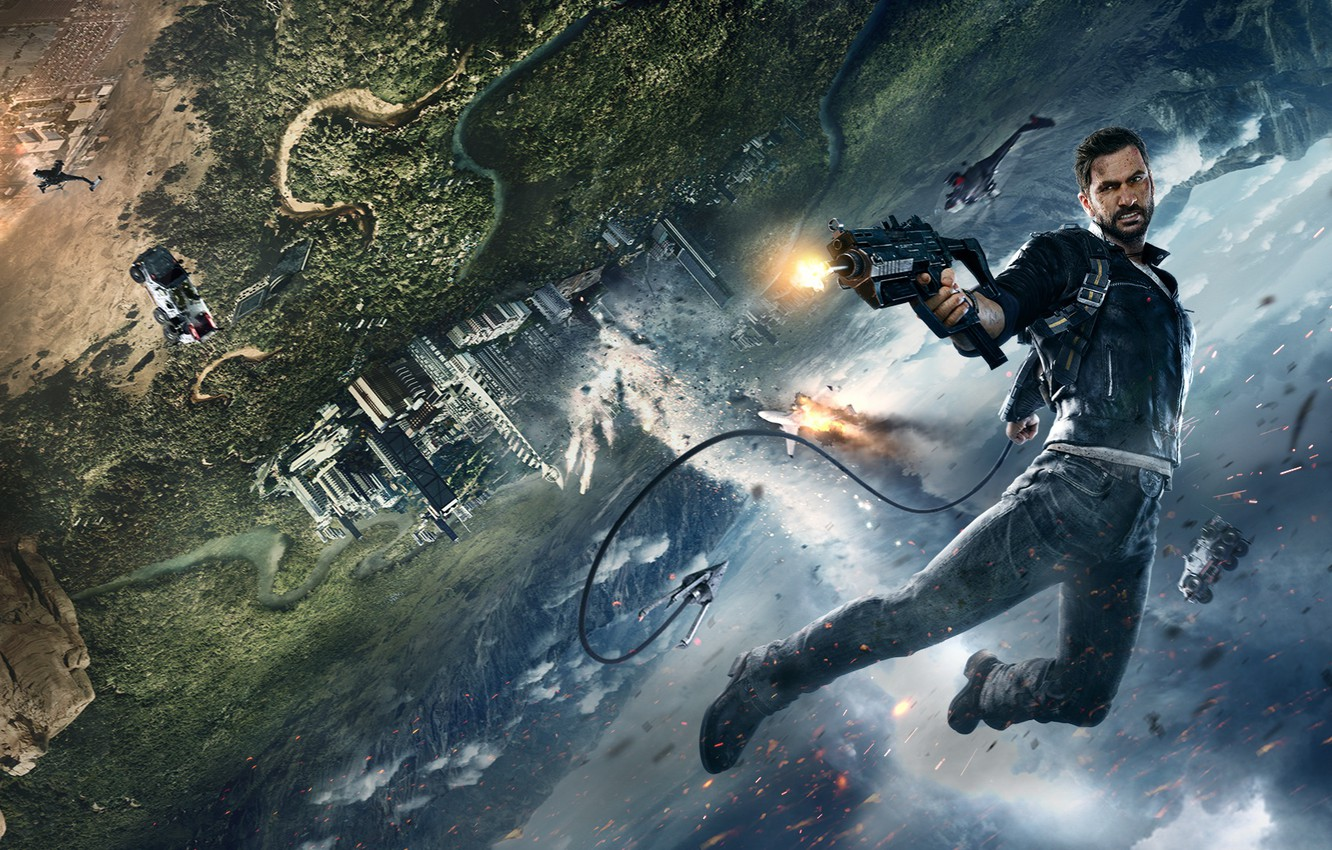 Wallpaper Square Enix Avalanche Studios Rico Rodriguez Just Cause 4 Just Cause Images For Desktop Section Igry Download