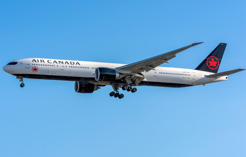 Photo wallpaper Boeing, Air Canada, 777-300ER