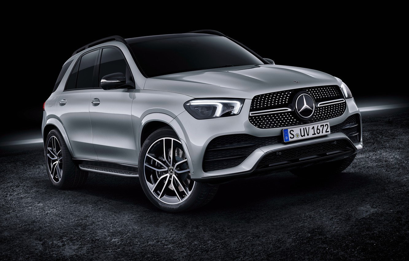 Photo wallpaper Mercedes-Benz, crossover, 450, 4MATIC, GLE, AMG Line, 2019