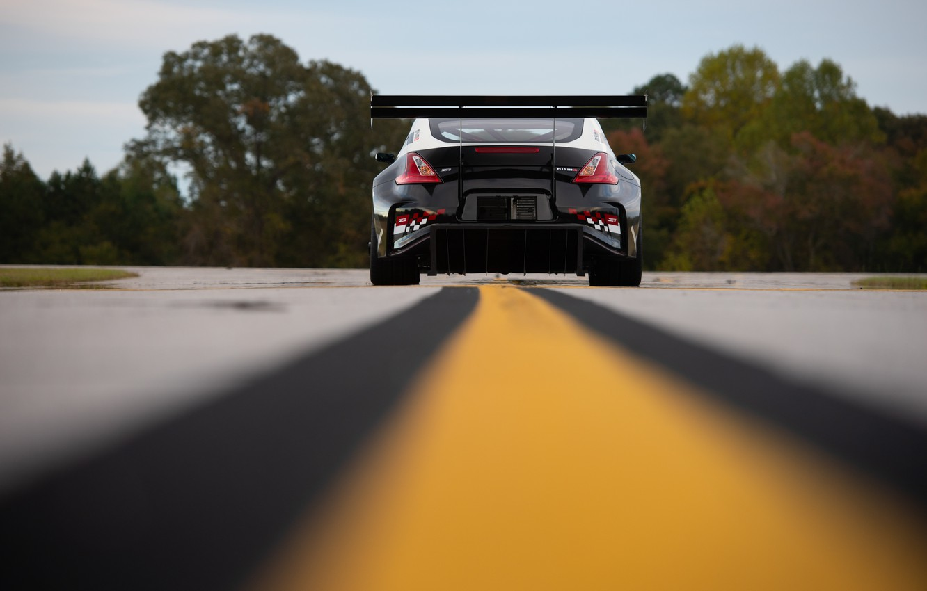 Photo wallpaper Concept, Nissan, rear view, 370Z, 2019, Global Time Attack TT