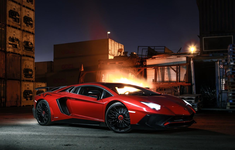 Photo wallpaper Lamborghini, sports car, Lamborghini sv