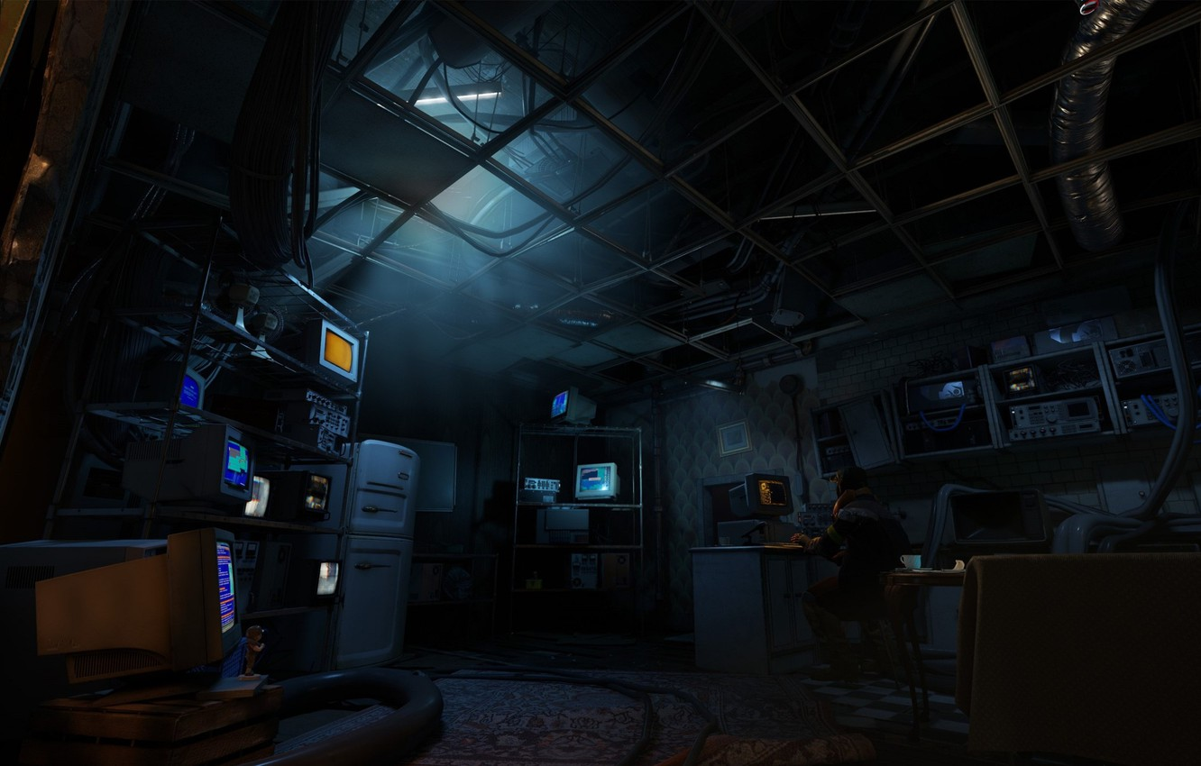 Wallpaper Room Half Life Room Screenshot Alyx Half Life Alyx Images For Desktop Section игры Download