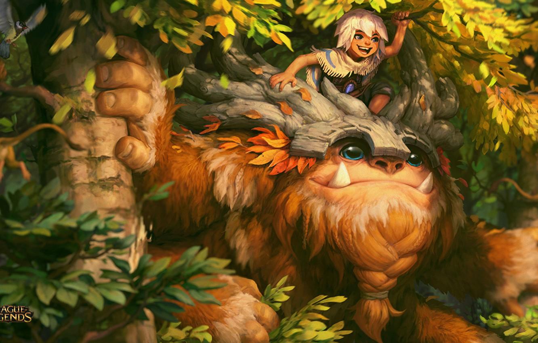 Photo wallpaper League of Legends, Bigfoot, B, Willump
