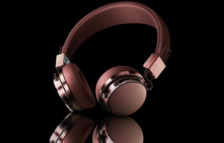 Photo wallpaper music, mp3, headophone
