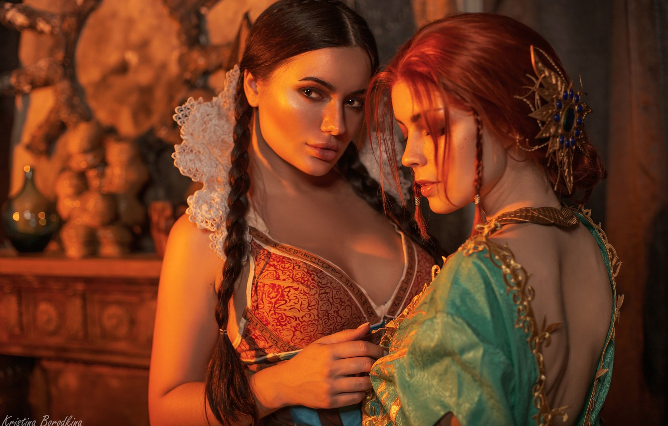 Photo wallpaper The Witcher, Triss Merigold, Philip Algart, Catherine Semadeni, Kristina Borodkina, Filippa Serial Search May