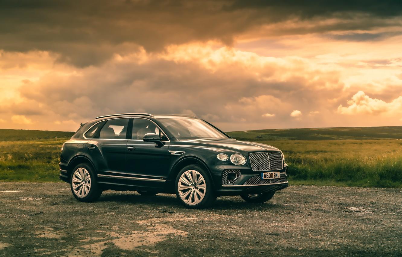 Photo wallpaper Bentley, 2020, Worldwide, Bentayga V8