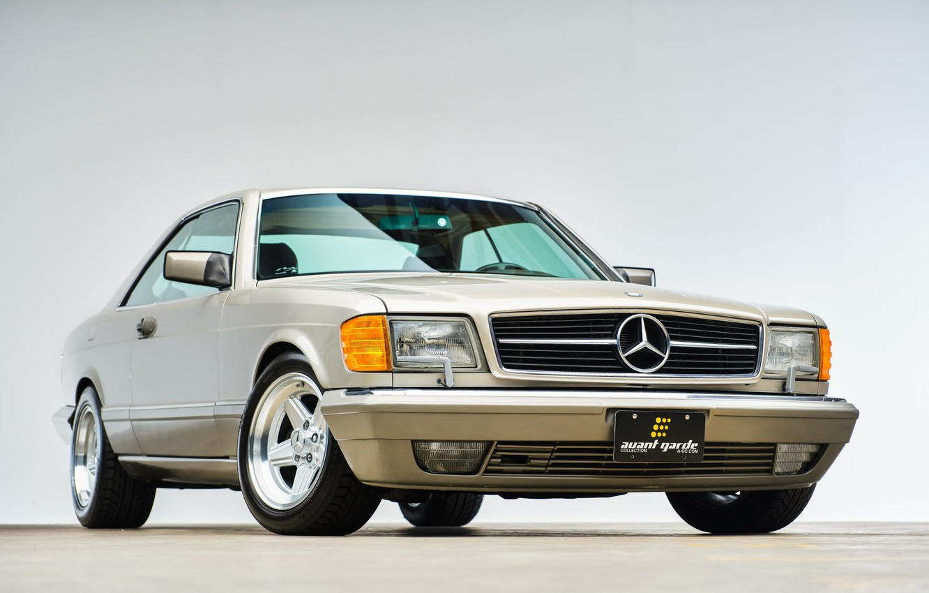 Photo wallpaper 560 sec, C126, Mercedec - Benz