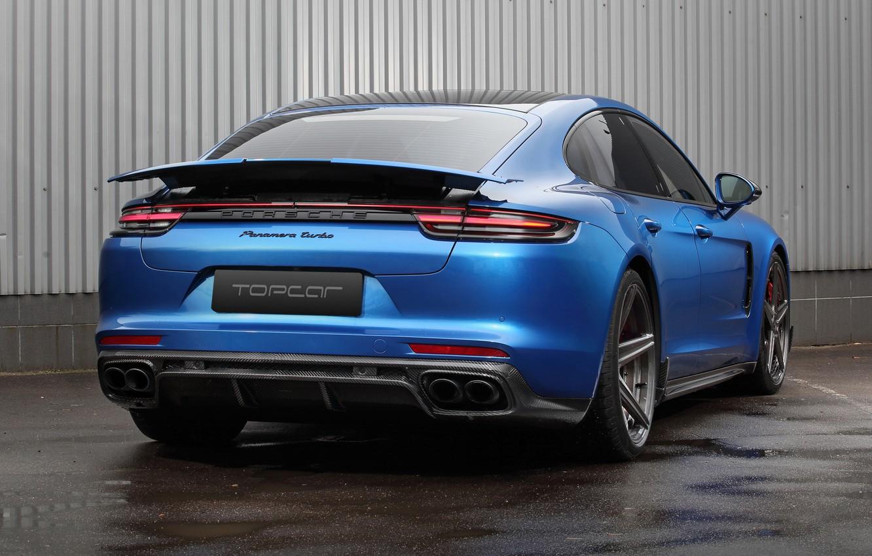 Photo wallpaper Porsche, Panamera, Turbo, 2018, Ball Wed, GT Edition