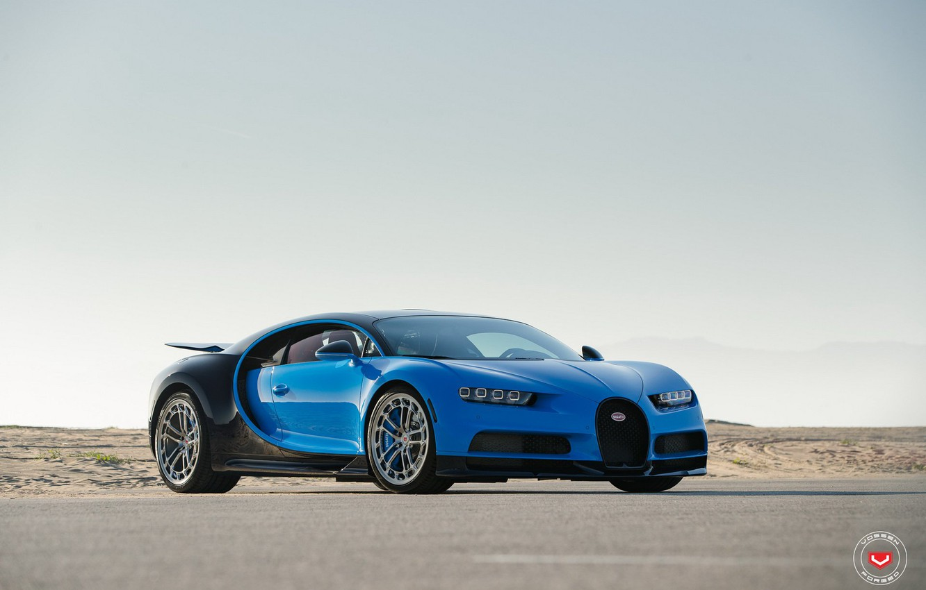 Photo wallpaper 2017, BUGATTI, CHIRON