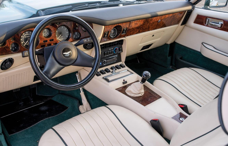 Photo wallpaper Classic, Series II, Aston Martin V8 Vantage