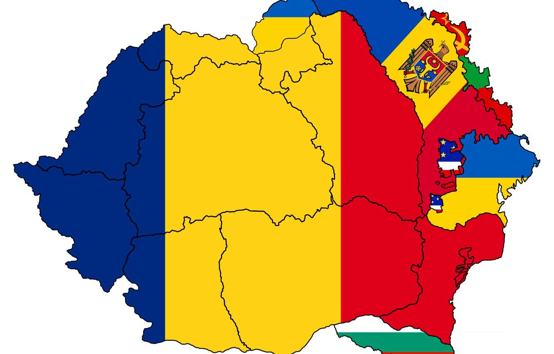 Wallpaper Flag Custom Romania Flag Ukraine Moldova
