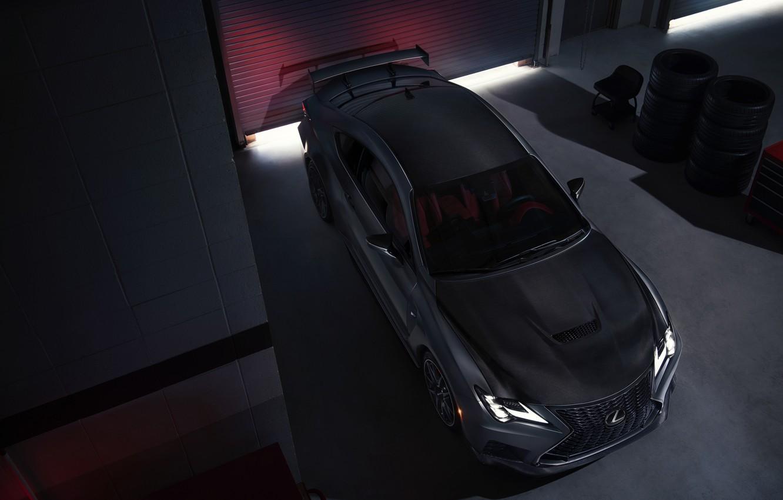 Photo wallpaper Lexus, Track Edition, RC F, 2019
