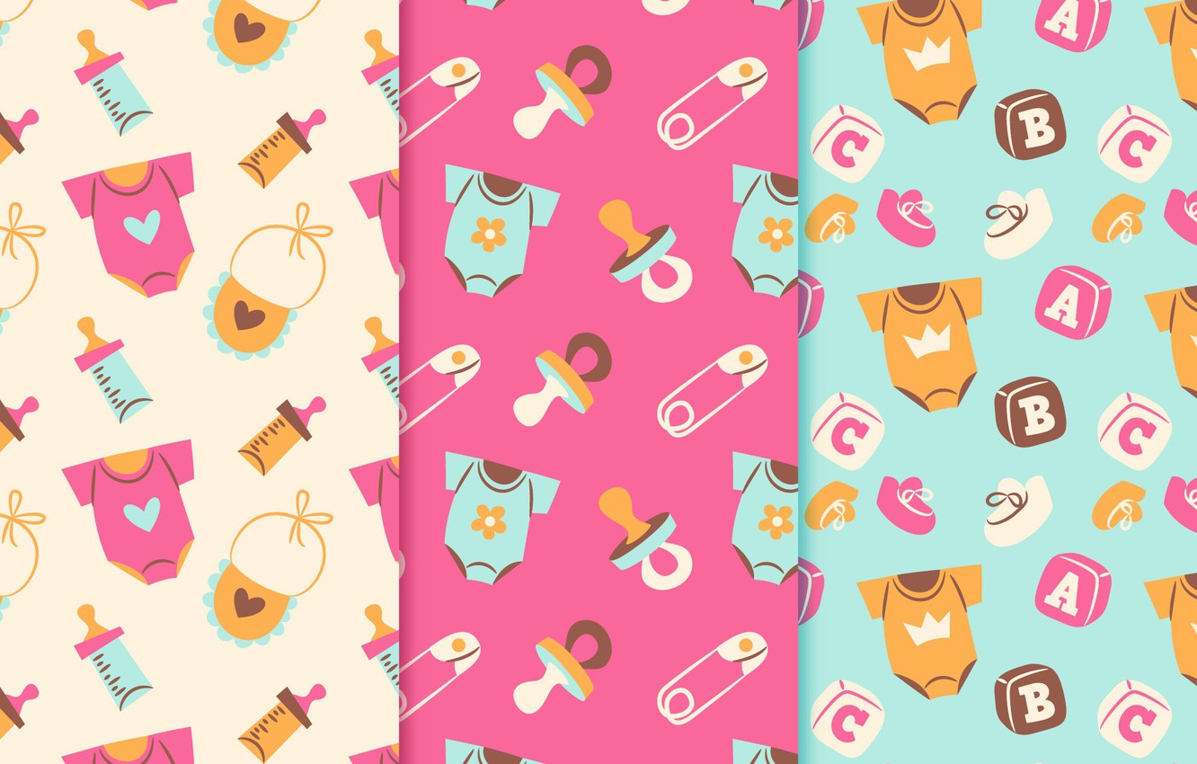 Wallpaper Wallpaper Baby Patterns Collection Children S