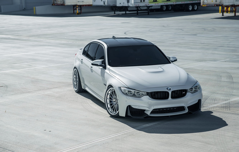 Photo wallpaper BMW, White, Sight, F81