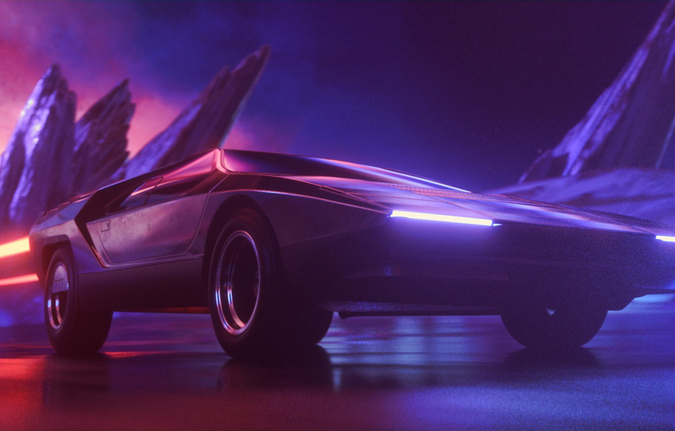 Wallpaper Auto Music Neon Machine Background Neon Synth Retrowave Synthwave New Retro Wave Futuresynth Sintav Retrouve Outrun Magnatron 2 0 Magnatron Images For Desktop Section Muzyka Download