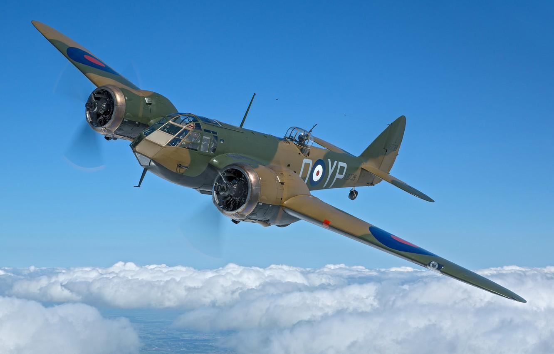 Photo wallpaper RAF, The Second World War, Bristol Blenheim, Bristol Blenheim Mk.I, Light bomber