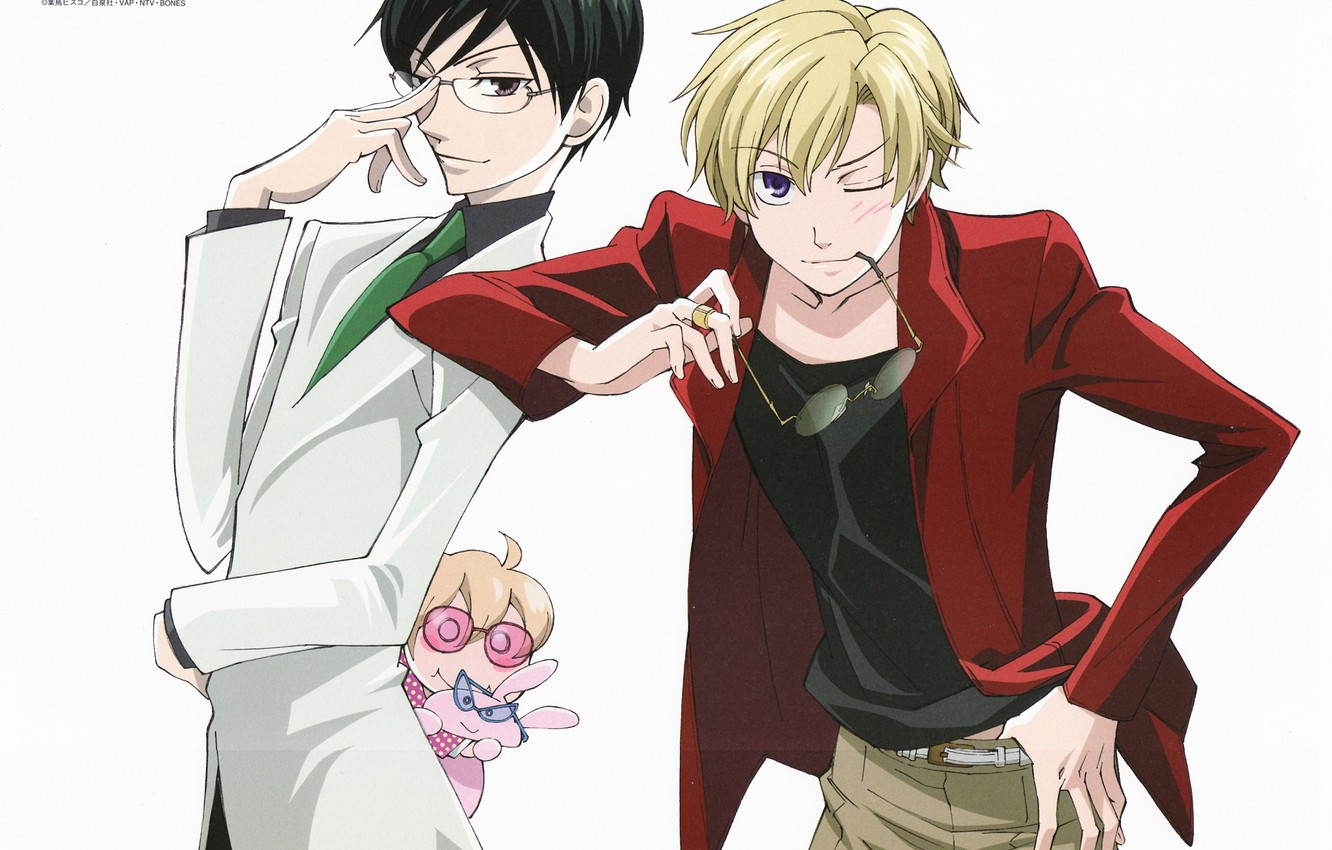 Wallpaper Guys Handsome Host Club Ouran High School Ouran