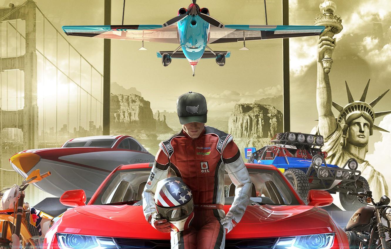 Wallpaper game, Ubisoft, The Crew 2 images for desktop