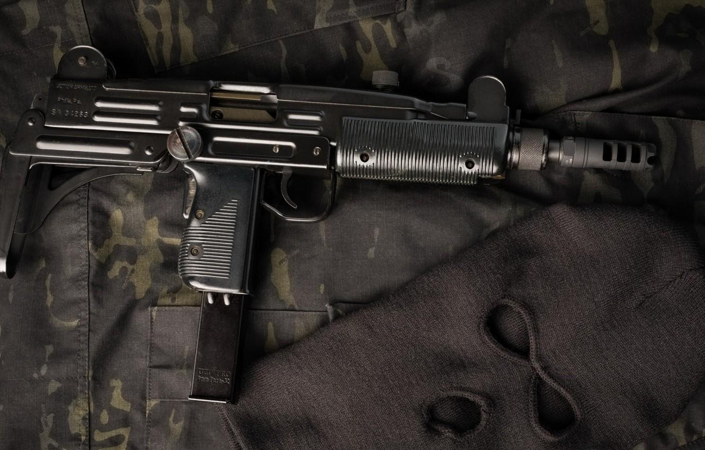 Photo wallpaper weapons, weapon, Uzi, Ultrasound, the gun, submachine gun