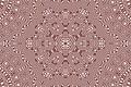 Picture white, pattern, round, brown, snowflake, kaleidoscope