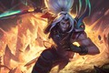 Picture the explosion, sword, guy, League of Legends