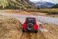 Picture red, stream, movement, rear view, 2018, Jeep, Wrangler Rubicon