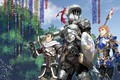 Picture sword, forest, armor, anime, ken, men, blade, asian, slayer, shield, armour, hunter, knight, pearls, oriental, ...