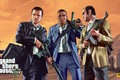 Picture costume, the bandits, bag, AK-47, machines, Rockstar, gta, Grand Theft Auto V, GTA V, gta ...