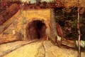 Picture arch, tunnel, Vincent van Gogh, Underpass, Roadway with, The Viaduct